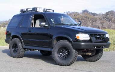 Supercharged 1996 Ford Explorer
